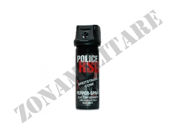 SPRAY AL PEPERONCINO RSG POLICE 15ML PROFESSIONALE