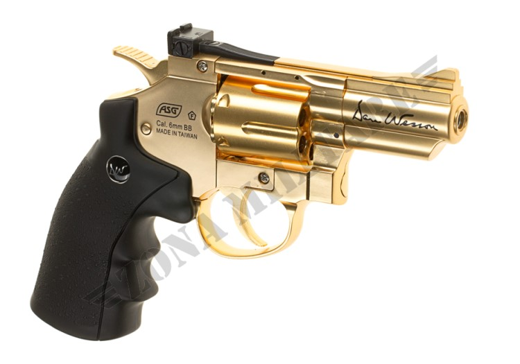REVOLVER DAN WESSON 2.5 INCH FULL METAL CO2 GOLD