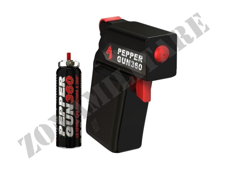 PEPPER GUN 360 SPRAY AL PEPERONCINO ANTIAGGRESSIONE