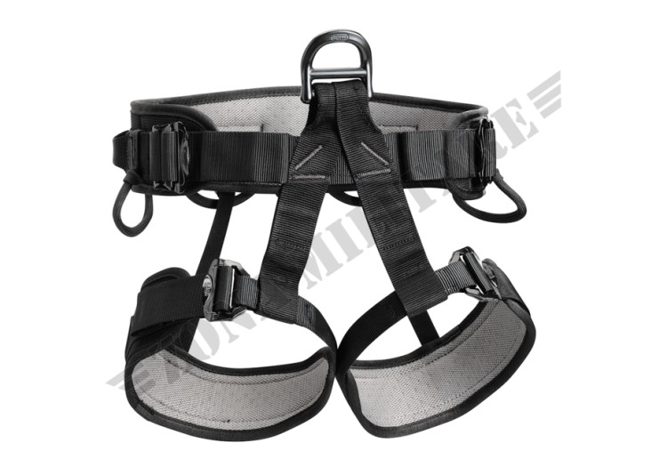 IMBRAGATURA FALCON HARNESS PETZL BLACK COLOR