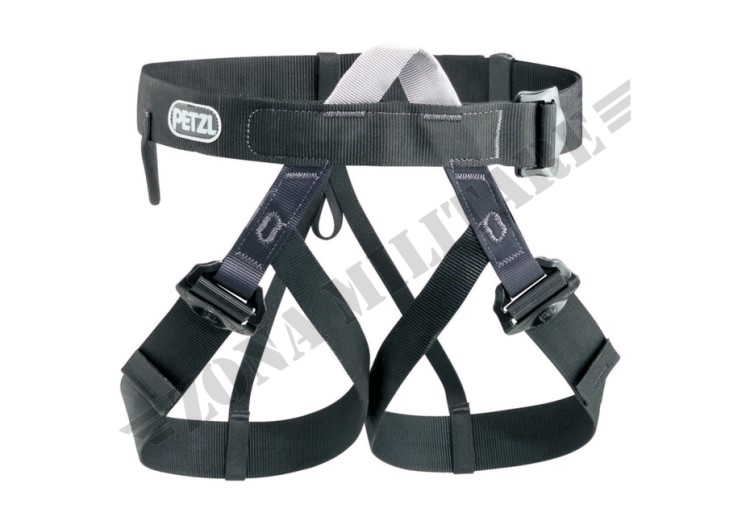 IMBRAGATURA PANDION HARNESS PETZL BLACK COLOR
