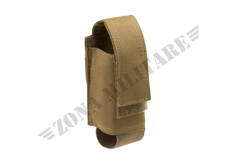 SINGLE 40MM GRENADE POUCH INVADER GEAR COYOTE COLOR