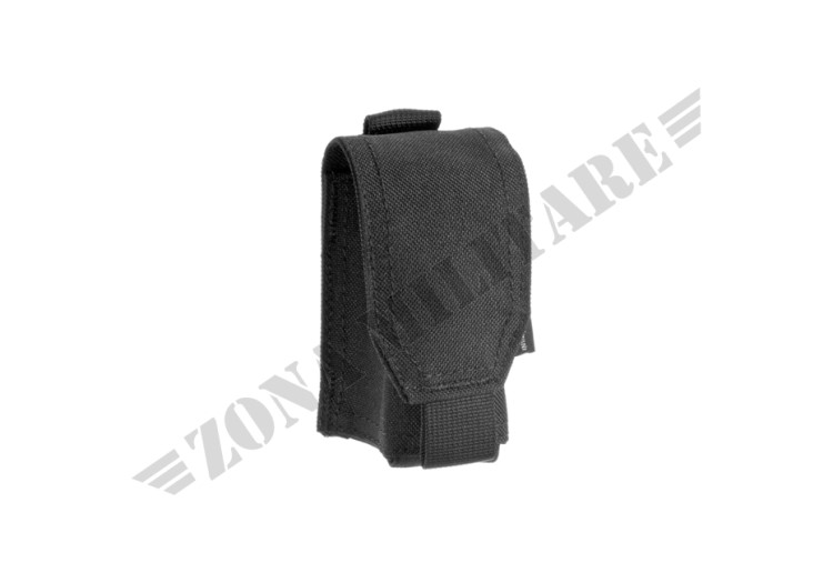 SINGLE 40MM GRENADE POUCH INVADER GEAR BLACK COLOR
