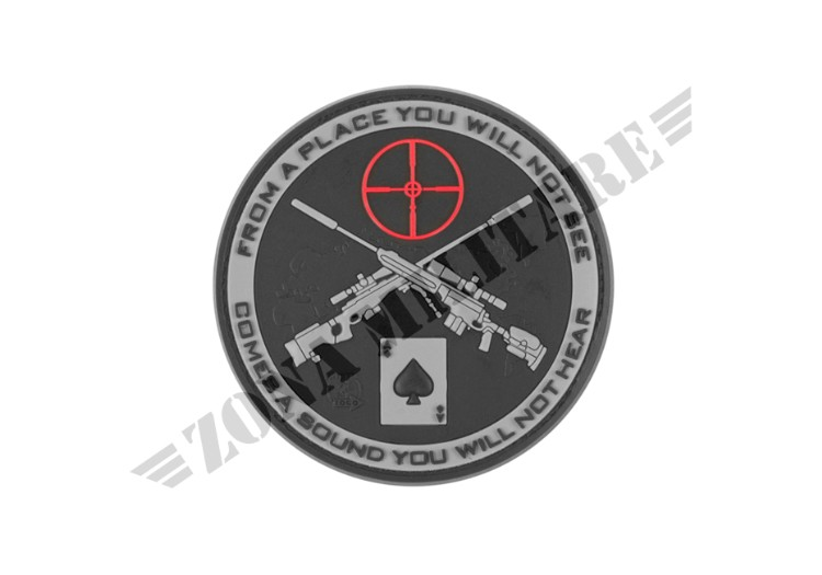 PATCH GOMMATA SNIPER RUBBER PATCH SWAT JTG