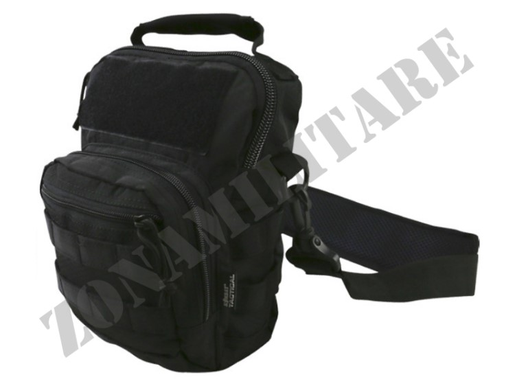 MONOSPALLA HEX STOP EXPLORER SHOULDER BAG BLACK KOMBAT