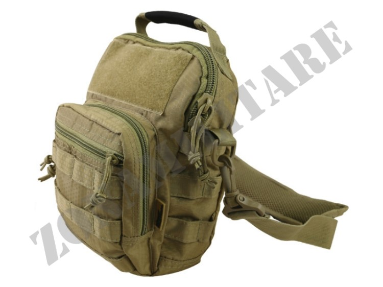 MONOSPALLA HEX STOP EXPLORER SHOULDER BAG COYOTE KOMBAT