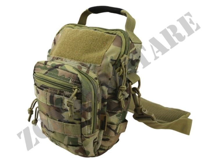 MONOSPALLA HEX STOP EXPLORER SHOULDER BAG MULTICAM KOMBAT