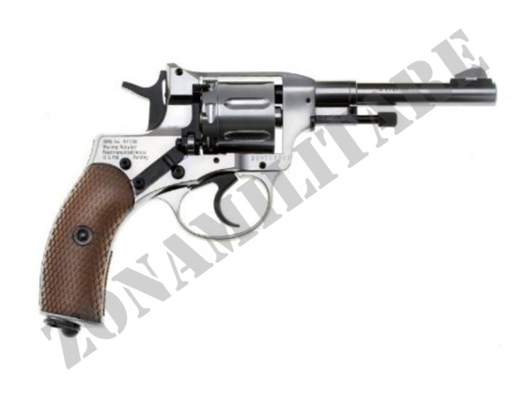 REVOLVER GLETCHER NGT CO2 CAL 4.5 POT.<7.5 JOULE SILVER