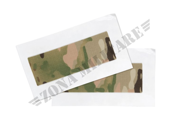 KIT RIPARAZIONE TESSUTI PATCHES 2-PACK MULTICAM