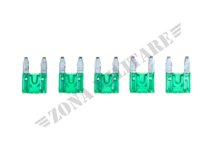 FUSIBILE MINI BLADE FUSE 30A 5PCS PACK ICS