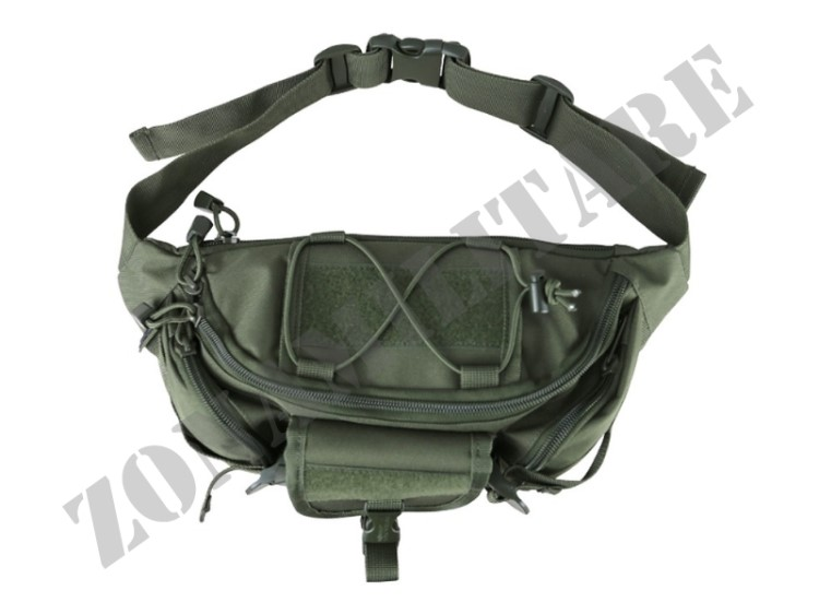 MARSUPIO TACTICAL WAIST BAG OLIVE GREEN KOMBAT