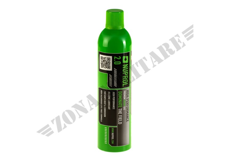 GAS NUPROL 2.0 PREMIUM GREEN GAS AIRSOFT
