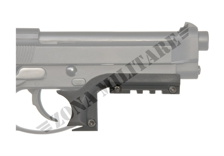 SLITTA IN ABS PER PISTOLA M9 RAIL MOUNT ELEMENT