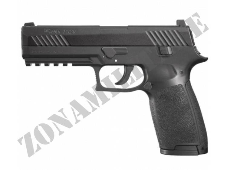 PISTOLA SIG SAUER P320 AIR BLACK CAL.4.5 POT.<7.5 JOULE