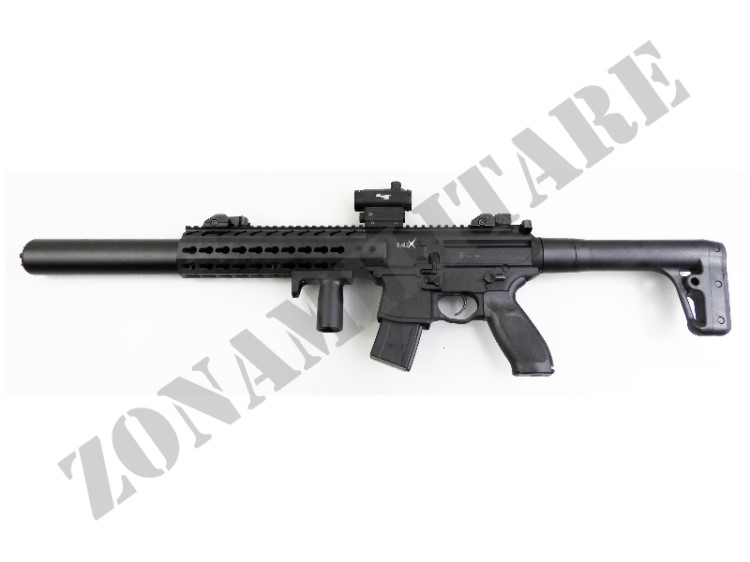 CARABINA SIG SAUER CAC MCX 4.5 BLK CO2 RED DOT POT<7.5