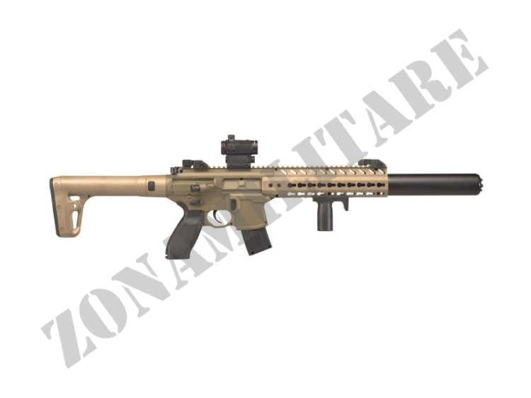 CARABINA SIG SAUER CAC MCX 4.5 FDE CO2 RED DOT POT<7.5