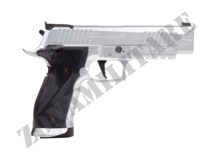 PISTOLA SIG SAUER AIR X-FIVE CO2 CAL.4.5 POT.<7.5 JOULE SILVER