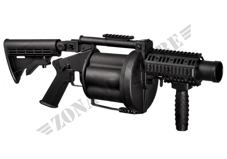 MGL MULTIPLE GRENADE LAUNCHER BLACK VERSION ICS