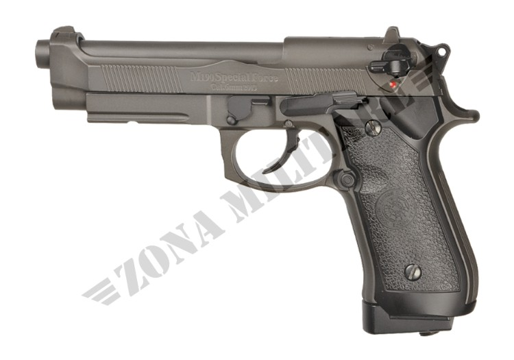 PISTOLA TAURUS 98 CO2 SCARRELLANTE FULL METAL