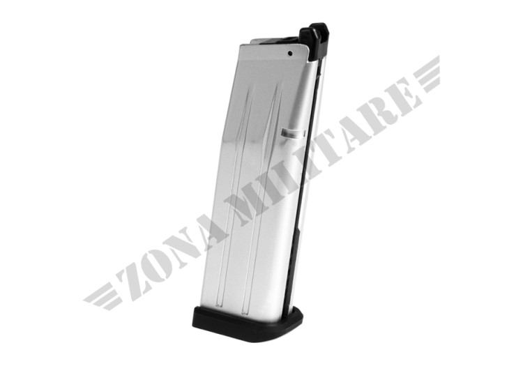 MAGAZINE HI-CAPA 5.1 GBB 31 BB WE SILVER