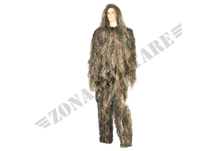 GHILLIE SUIT INVADER GEAR COLORAZIONE WOODLAND