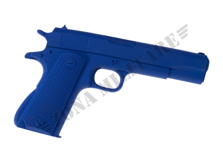 PISTOLA DA TRAINING M1911 BLUE TRAINING GUN BIG DRAGON