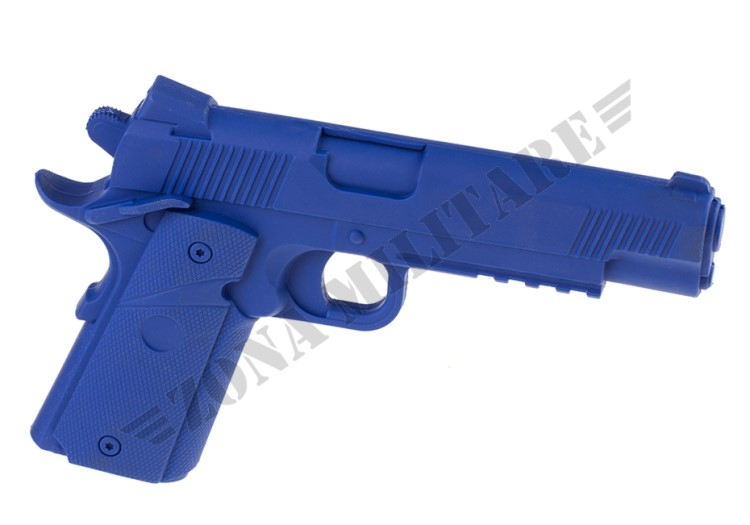 PISTOLA DA TRAINING M1911 MEU BLUE TRAINING GUN BIG DRAGON