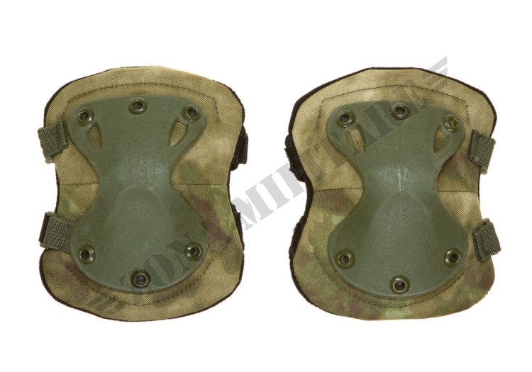 XPD ELBOW PADS INVADER GEAR EVERGLADE COLOR