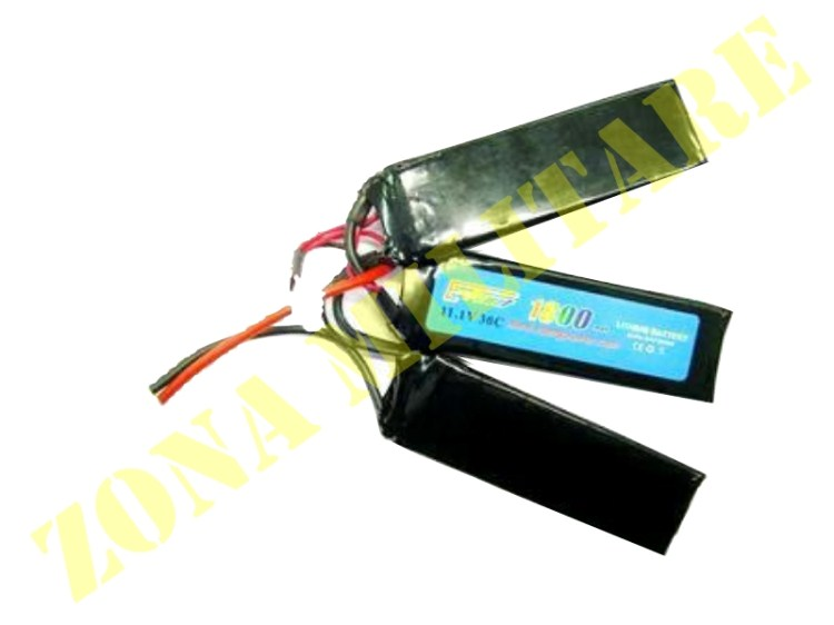 BATTERIA E-POWER LIPO 11.1V 1800MAH 30C 3 ELEMENTI