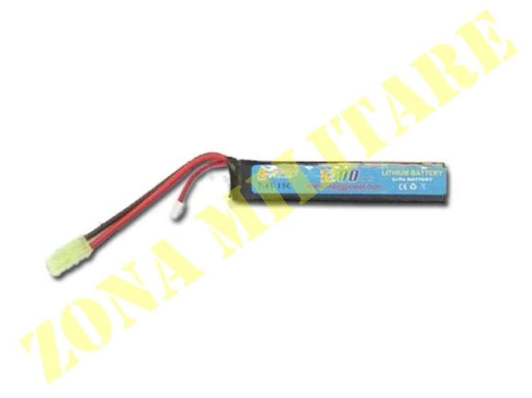 BATTERIA E-POWER LIPO 7.4V 1200MAH 15C