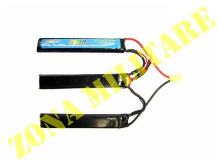 BATTERIA E-POWER LIPO 11.1V 2000MAH 20C