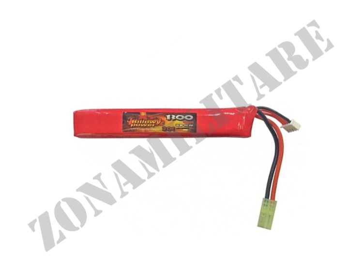 BATTERIA LIPO 11,1V 1300MAH 20C BILLOWY POWER