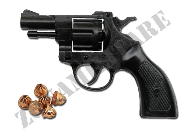 REVOLVER A SALVE IN METALLO/ABS REVOLVER OLIMPYC CAL.6MM