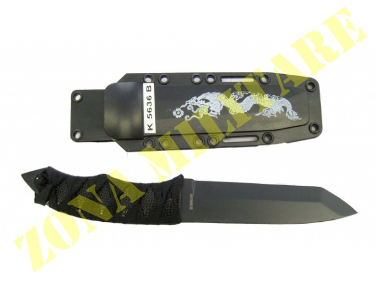 COLTELLO ROYAL MODELLO DRAGON FLY BLACK