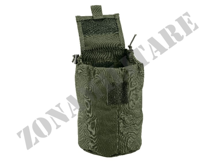 FOLDABLE DUMP POUCH DEFCON 5 OD GREEN