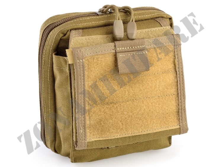 MAP POUCH WITH NOTE BOOK HOLDER DEFCON 5 COYOTE