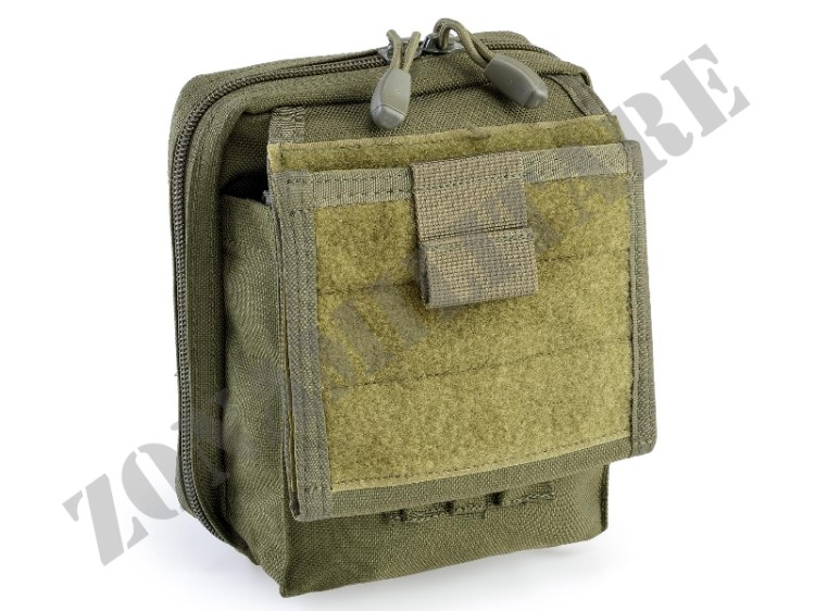 MAP POUCH WITH NOTE BOOK HOLDER DEFCON 5 OD GREEN