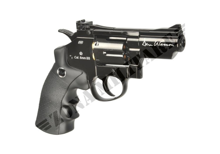 REVOLVER DAN WESSON 2.5 INCH FULL METAL CO2 BLACK