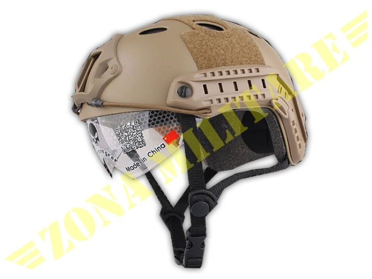 ELMETTO EMERSON FAST HELMET PJ GOOGLE VERSION TAN