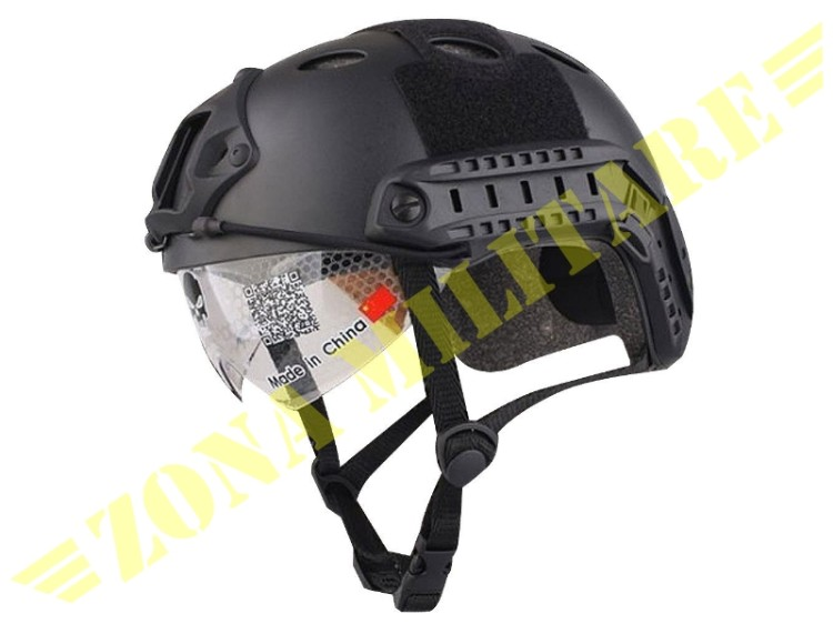 ELMETTO EMERSON FAST HELMET PJ GOOGLE VERSION BLACK