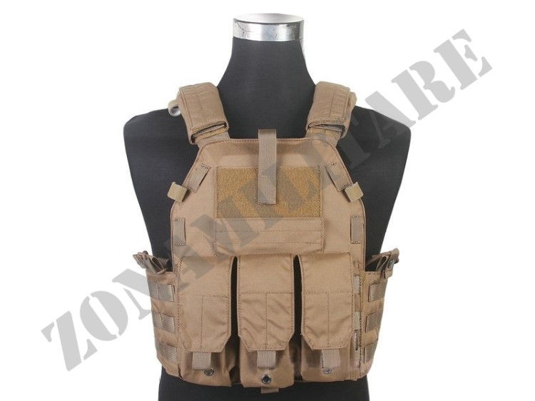 TATTICO EMERSON PLATE CARRIER 6094K LBT TYPE COYOTE BROWN