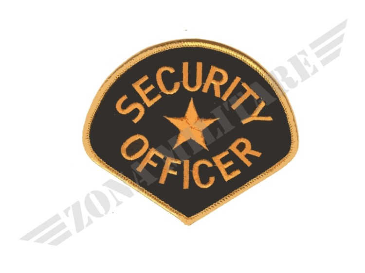 PATCH TERMO ADESIVA SECURITY OFFICER CON STELLA