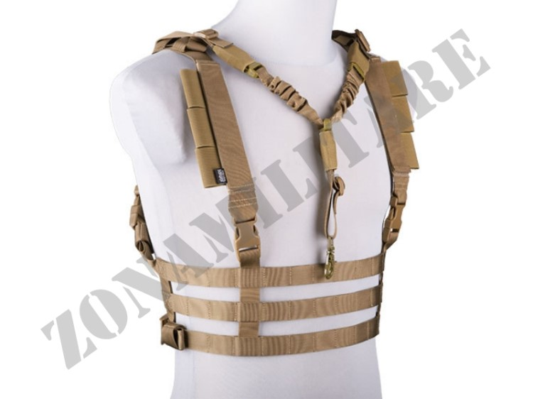 DYNAMIC CHEST RIG TACTICAL VEST BLACK FROG INDUSTRIES COYOTE