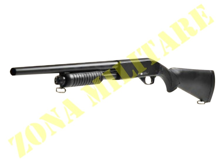 FUCILE A POMPA ACE OF SPADES MOSSBERG FULL METAL