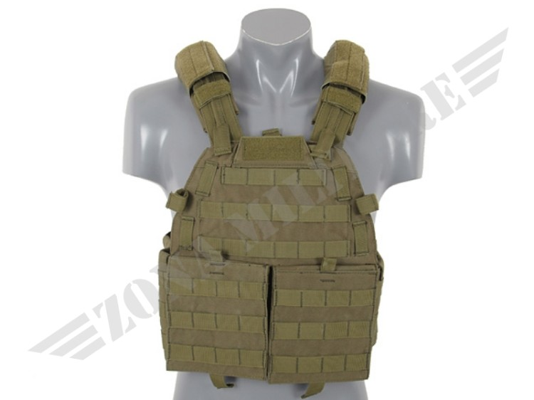 TATTICO MOLLE TYPE ARMOR VEST OLIVE 8 FIELDS