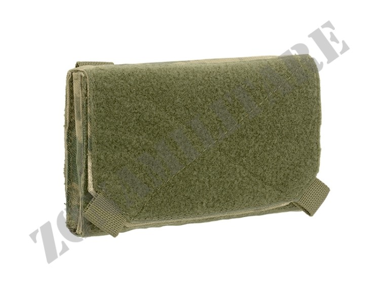 SMALL ADMIN POUCH RC 8FIELDS FOLIAGE GREEN COLOR