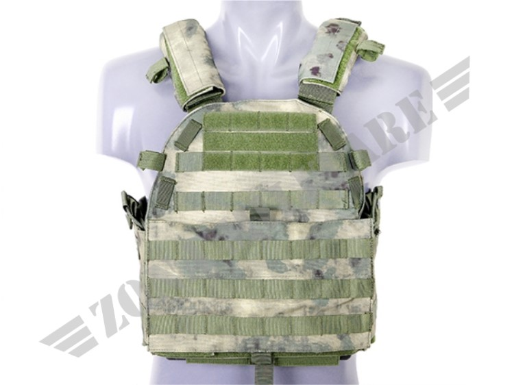 ULTIMATE OPERATOR PLATE CARRIER CON PIASTRE FOLIAGE GREEN 8 FIELDS