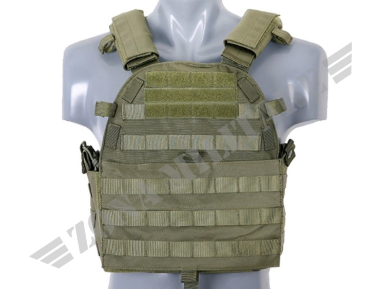ULTIMATE OPERATOR PLATE CARRIER CON PIASTRE OD GREEN 8 FIELDS