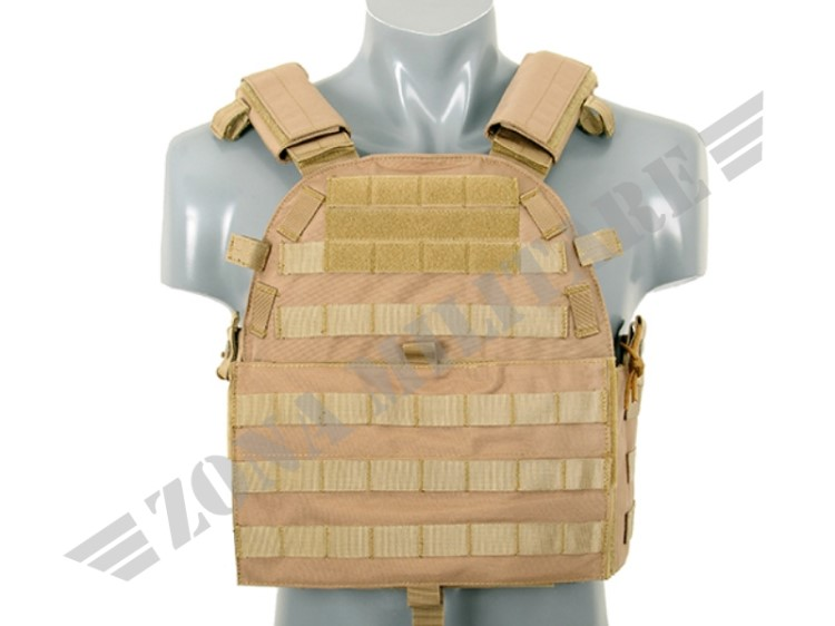 ULTIMATE OPERATOR PLATE CARRIER CON PIASTRE COYOTE 8 FIELDS