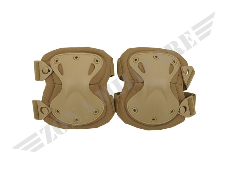 GINOCCHIERE KNEE PADS SET COYOTE 8FIELD
